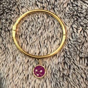 Kate Spade gold Aquarius bangle